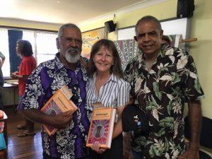 Barry Phyball, Nambucca Shire Mayor Rhonda Hoban and Gary Williams