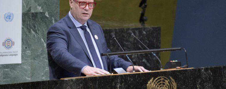 Dhanggati spoken at UN to launch Year of Indigenous Languages